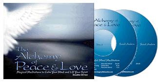 Guided Meditation: The Alchemy of Peace & Love - 2 discs